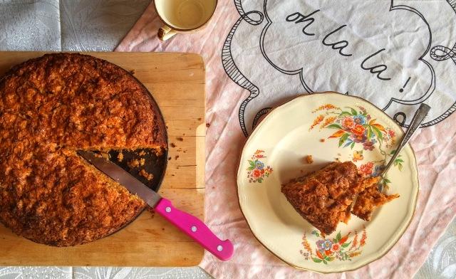 עוגת גזר טבעונית מושלמת